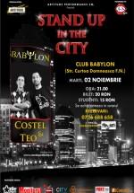 Stand-up in the City în Club Babylon din Suceava
