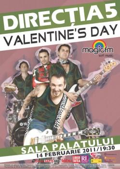 Valentine's Day cu Direcţia 5 la Sala Palatului din Bucureşti