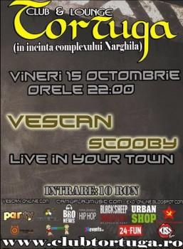 Concert Vescan & Scooby la Club Tortuga din Baia Mare