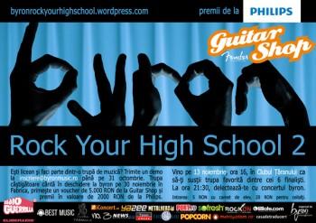 byron Rock your High School la Clubul Ţăranului din Bucureşti