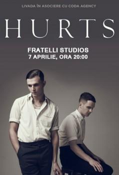 Concert Hurts în Fratelli Studios din Bucureşti