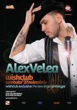 Concert Alex Velea la Club Wish din Constanţa
