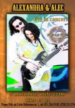 Concert Alexandra & Alec la Popas Pub din Bucureşti