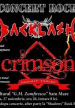 Concert Backlash şi Crimson la Centrul Cultural G.M.Zamfirescu din Satu Mare