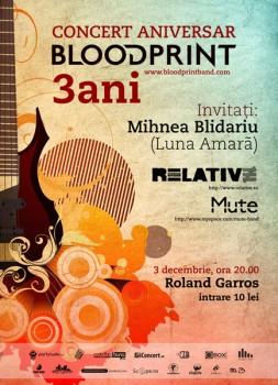 Concert Blood Print la Roland Garros din Cluj-Napoca
