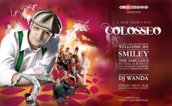 Colosseo – A New Year's Eve în Club Elements din Bucureşti
