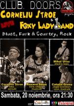 Concert Corneliu Stroe & Foxy Lady Band la Club Doors din Constanţa