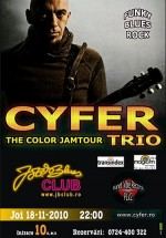Concert Cyfer la Jazz & Blues Club din Târgu Mureş