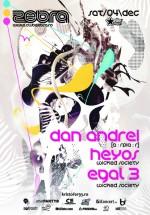 Dan Andrei, Heyos & Egal 3 la Zebra Club din Bacău
