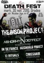 Death Fest 6 la Club Vault din Oradea
