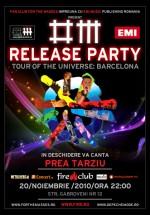 Lansare DVD Depeche Mode în Fire Club din Bucureşti