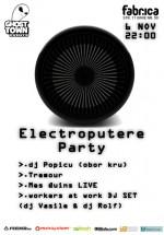 Electroputere Party în Club Fabrica din Bucureşti