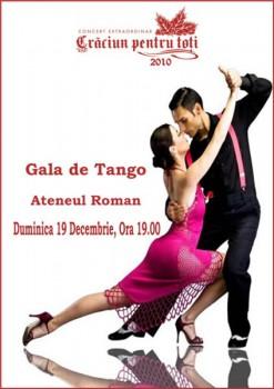 Gala Crăciun pentru Toţi la Atenul Român din Bucureşti