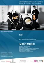 Concert Imago Mundi la Biblioteca Naţională din Bucureşti