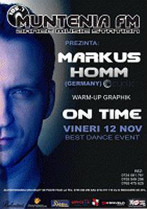 Markus Homm în Club On Time din Piteşti