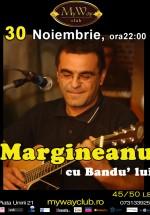 Concert Mihai Mărgineanu cu Bandu' lui la Club My Way din Cluj-Napoca