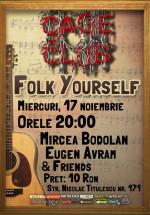 Concert Mircea Bodolan şi Eugen Avram la Cage Club din Bucureşti