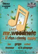 Concert Mr. Woodnote & Lil Rhys în Club Fabrica din Bucureşti