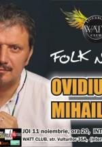 Concert Ovidiu Mihailescu la Watt Club din Bucureşti