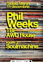 Phil Weeks în Studio Martin din Bucureşti