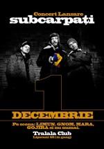 Concert Subcarpaţi la Tralala Club din Bucureşti