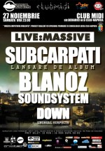 Lansare Subcarpati la Club Midi din Cluj-Napoca