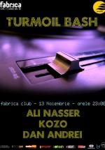 Turmoil Bash în Club Fabrica din Bucureşti