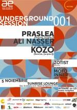 Underground Session 001 la Sunrise Lounge din Iaşi