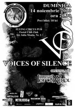 Concert Voices Of Silence la Flying Circus Pub din Cluj-Napoca