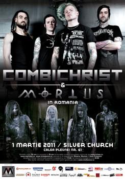 Concert Combichrist la Bucureşti