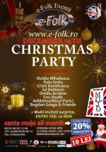 Christmas Party la Club Mojo-Brit Room din Bucureşti