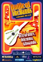 Battle of the Bands în Le Studio Club din Bucureşti