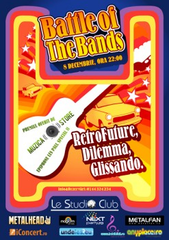 Battle of the Bands în Le Studio Club din Bucureşti