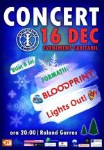 Concert Blood Print & Lights Out la Roland Garros din Cluj-Napoca
