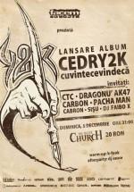 Lansare album Cedry2k la The Silver Church din Bucureşti
