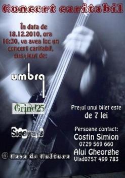 Concert Caritabil la Casa de Cultură a Sindicatelor din Piatra Neamţ