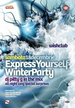 ExpressYourSelfWinterParty la Club Wish din Constanţa