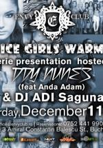 Famous Ice Girls Warm You Up la Club Envy din Bucureşti