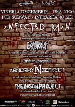 Concert Infected Rain în Pub Subway din Bacău