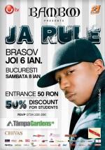 Concerte Ja Rule la Club Bamboo din Braşov şi Bucureşti
