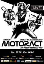 Concert MotorACT la Pub Subway din Bacău