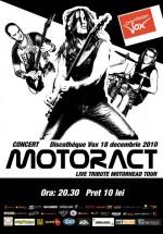Concert MotorACT la Discotheque Vox din Suceava