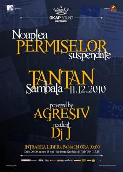 Noaptea permiselor suspendate în Club Tan Tan din Bucureşti
