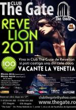 Revelion 2011 în Club The Gate din Bucureşti