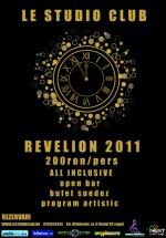 Revelion 2011 în Le Studio Club din Bucureşti