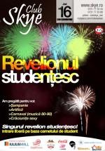 Revelionul Studenţesc la Club Skye din Iaşi