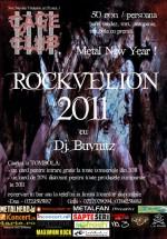 Rockvelion 2011 la Cage Club din Bucureşti