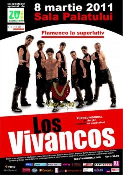 Los Vivancos – Flamenco la Sala Palatului din Bucureşti – AMÂNAT