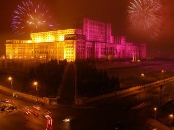 Revelion 2011 în Piaţa Constituţiei Bucureşti