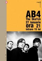 Concert AB4 în Club Control din Bucureşti